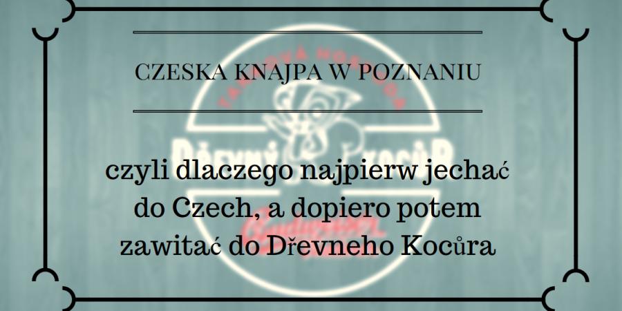 Czeska Knajpa W Poznaniu Dziewczyna Z Czerwoną Walizką