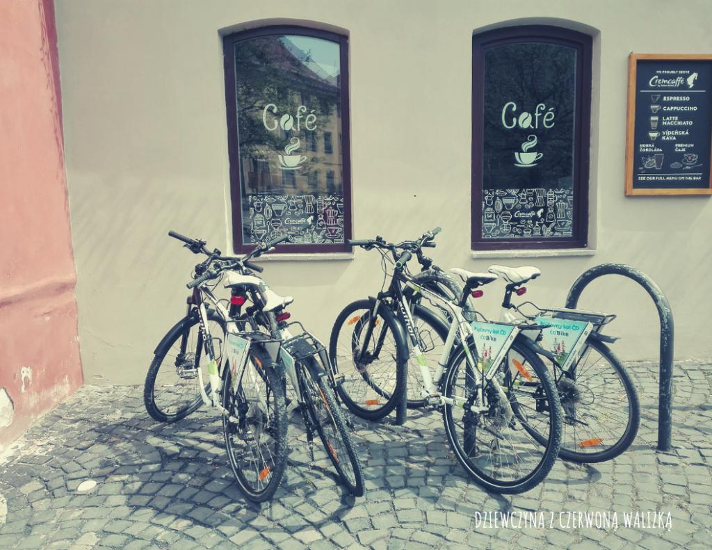 Do Czech na rowerze
