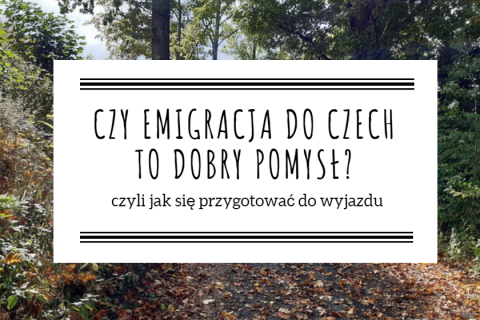 emigracja do czech