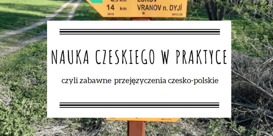 nauka czeskiego w praktyce