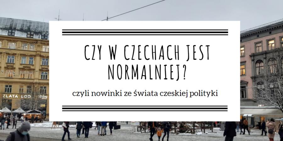 Czy w Czechach jest normalniej?