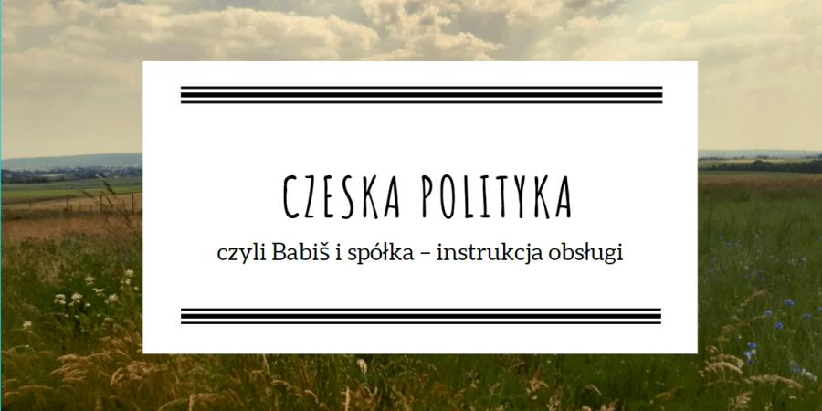 Czeska scena polityczna